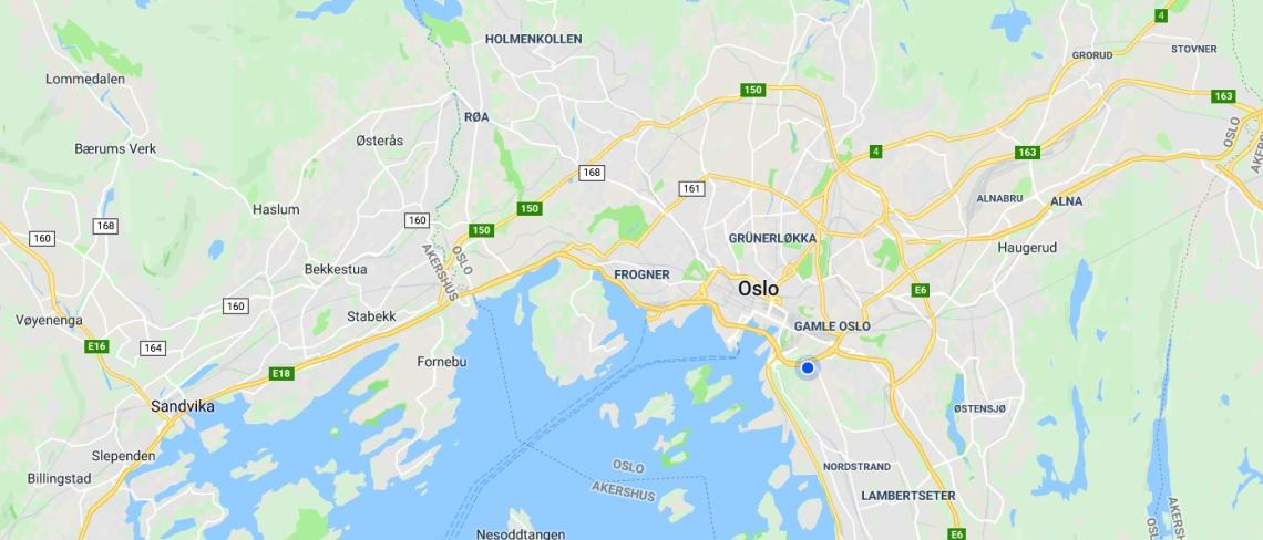 Maps Oslo