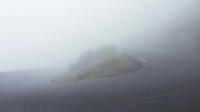 Trollstigen Nebel