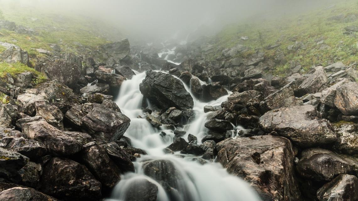 Trollstigen Wasserfall 1