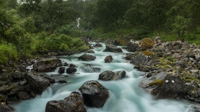 Trollstigen Wasserfall 3