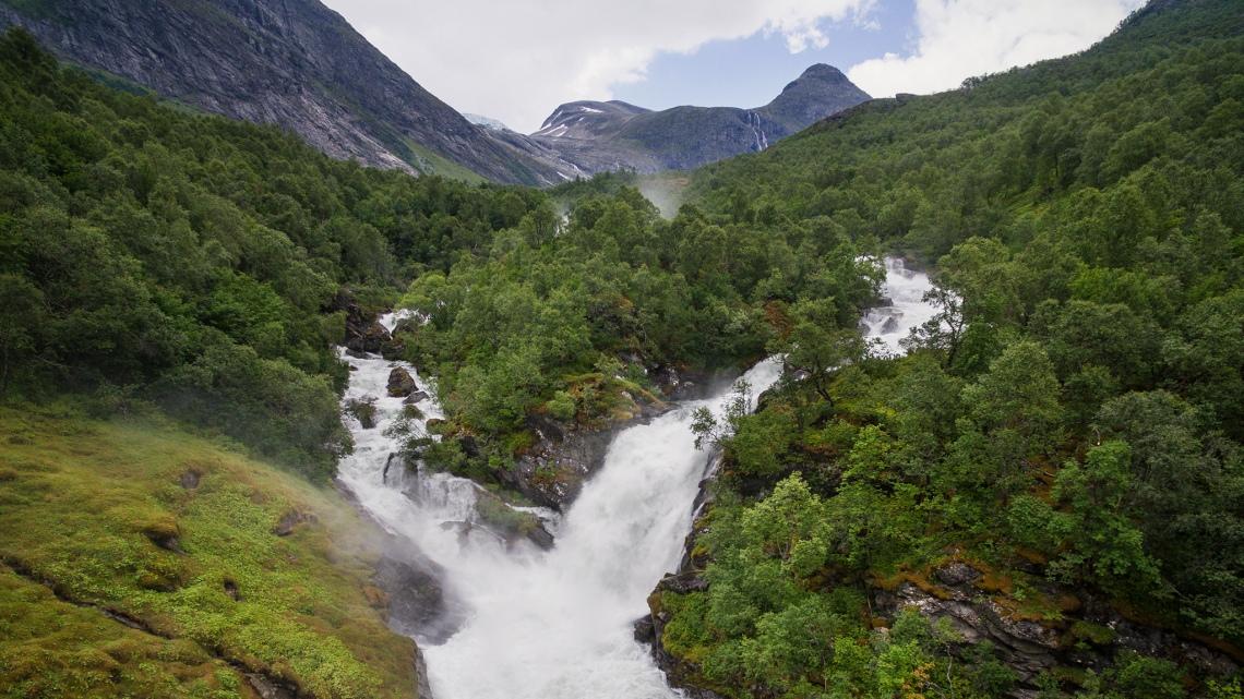 Wasserfall Loen